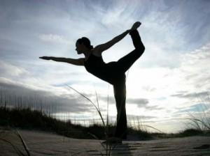 Natarajasana -- Dancer Pose