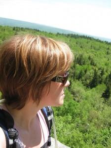 Sitting on Mt. Greylock